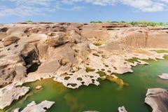 Сэм Phan Bok - гранд-каньон Таиланда Стоковые Изображения RF