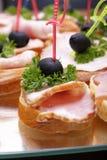 сэндвичи с ветчиной Стоковое Фото