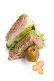 сэндвич с ветчиной клуба сыра Стоковое Изображение RF
