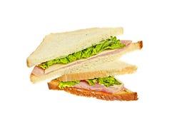 сэндвич с ветчиной сыра Стоковая Фотография RF