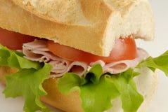 сэндвич с ветчиной стоковое фото