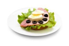 сэндвич с ветчиной стоковые фотографии rf
