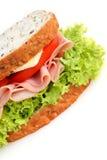 сэндвич с ветчиной Стоковые Фото