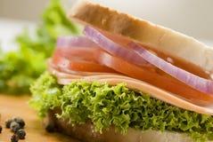 сэндвич с ветчиной стоковое изображение rf