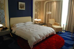 сюита гостиницы Стоковое Фото