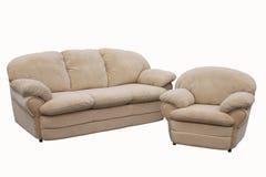 сюита мебели мягкая Стоковое Изображение RF