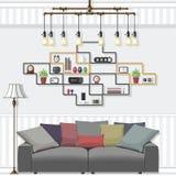 Сюиты живущей комнаты Стоковое Изображение