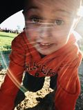 Сюрприз в Солнце Стоковое фото RF