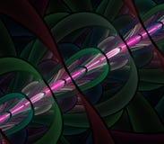 Сюрреалистическая абстрактная фракталь Стоковые Изображения