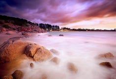 Сюрреалистический восход солнца стоковые фотографии rf