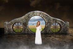 Сюрреалистический мир, надежда, влюбленность, природа Стоковая Фотография
