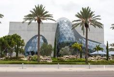 Сюрреалистическое самомоднейшее здание Стоковые Фотографии RF