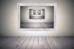 Сюрреалистская картинная рамка стоковое изображение rf