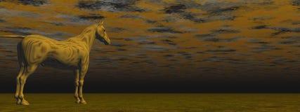 Сюрреалистская лошадь Стоковая Фотография RF