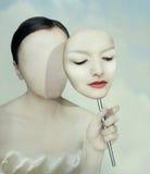 Сюрреалистический портрет бесплатная иллюстрация