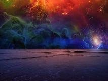 Сюрреалистическое море стоковые фотографии rf