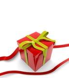 сярприз коробки красный Стоковое Изображение