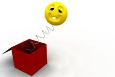 сярприз коробки Стоковое фото RF