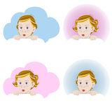сярприз младенцев Стоковое Фото