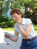 сярприз почты стоковое изображение rf
