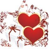 сярприз сердца Стоковая Фотография