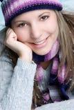 ся женщина зимы Стоковое Изображение RF