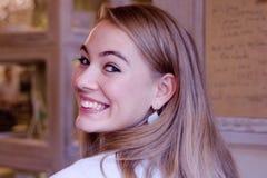 Ся молодая женщина стоковая фотография