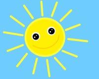 ся солнце Иллюстрация вектора