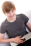 Ся redhead предназначенный для подростков Стоковые Фото