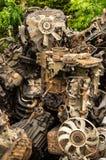 Сдаватьые в утиль двигатели Стоковая Фотография RF