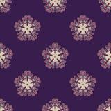 Славная и элегантная безшовная картина вектора Стоковые Изображения RF