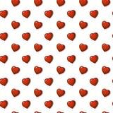 Славная картина сердец, иллюстрация предпосылки вектора Бесплатная Иллюстрация