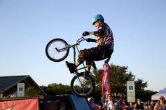 Славная конкуренция TX велосипеда BMX Стоковые Изображения