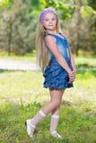 Славная маленькая девочка Стоковые Фото