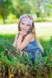 Славная маленькая девочка Стоковые Изображения