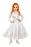 Славная маленькая девочка redhead Стоковое Изображение