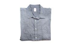 Славная мужская рубашка проверки Стоковое Изображение