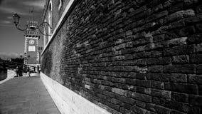 Славная прогулка в Венеции сентябре стоковые фотографии rf