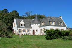 Славная резиденция дома кирпича в Европе Стоковое Изображение
