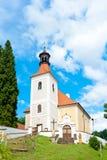 Славная сельская церковь Стоковое Изображение