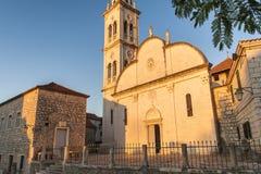 Славная церковь в городе Jelsa Стоковые Фото