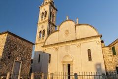 Славная церковь в городе Jelsa Стоковые Изображения