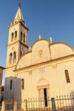 Славная церковь в городе Jelsa Стоковое Изображение