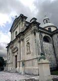 Славная церковь в Черногории Стоковое Изображение RF