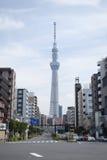 Славное здание в токио Стоковое фото RF