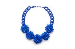 Славное изолированное ожерелье Стоковое Изображение RF