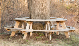 Славное место для пикника в северной части штата NY Стоковые Изображения RF