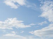 славное небо Стоковая Фотография