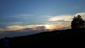 славное небо Стоковая Фотография RF