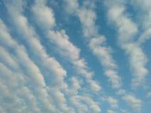 славное небо стоковое изображение rf